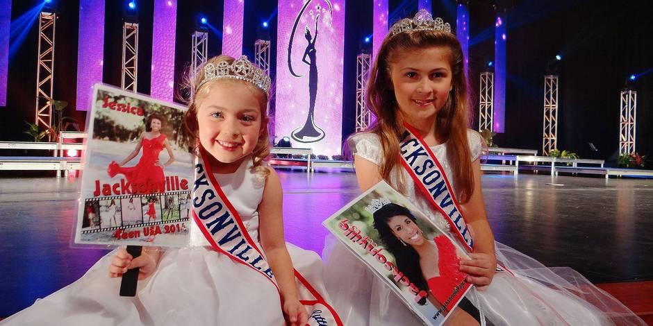 Les concours de mini-miss interdits en Belgique - La Libre