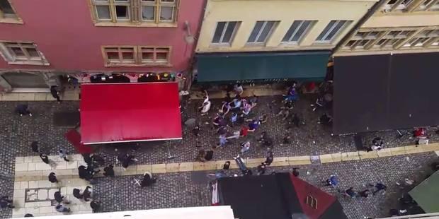 Des hooligans français s'attaquent à des supporters anglais à Lyon (VIDEOS) - La Libre