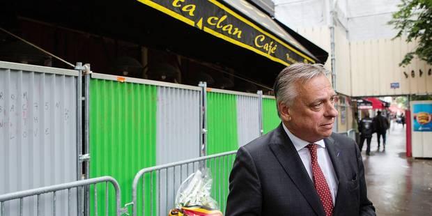 Au Bataclan, les députés belges et français affichent leur unité - La Libre