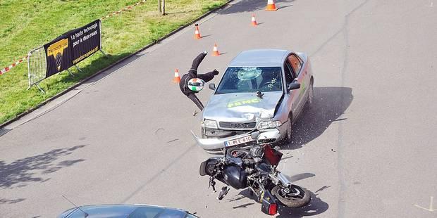 Nivelles: les motards priés d'être prudents - La Libre