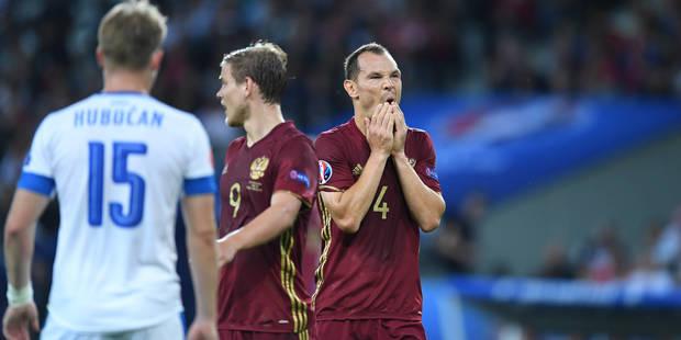 Le ministre russe des Sports tacle son équipe, éliminée de l'Euro - La Libre