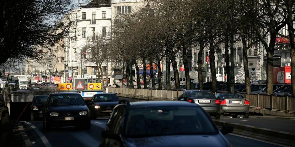 Attentats déjoués ce week-end: les suspects visaient l'avenue Louise
