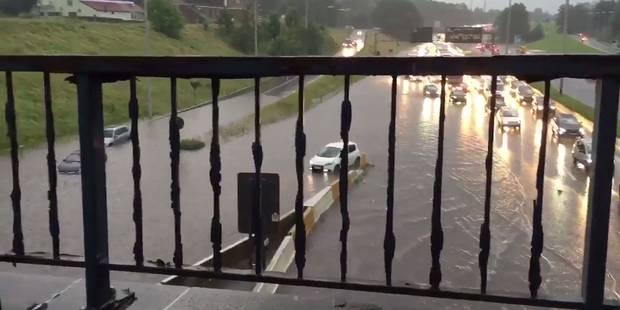 Bruxelles: le ring inondé à Wemmel, Molenbeek fortement touchée (Photos & Vidéos) - La Libre