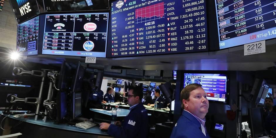 L'onde de choc du Brexit déstabilise les bourses de la planète - La Libre