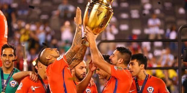 Le Chili bat l'Argentine et remporte la Copa America, Messi manque un penalty - La Libre