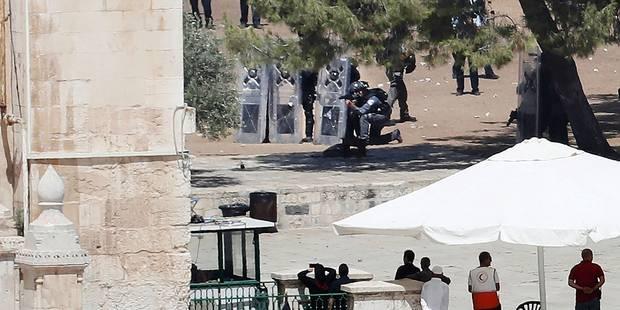 Des troubles lors du ramadan sur l'esplanade des Mosquées à Jérusalem - La Libre