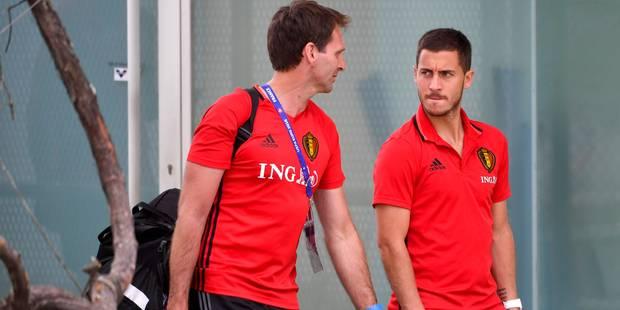 Eden Hazard pas encore certain de pouvoir jouer vendredi - La Libre