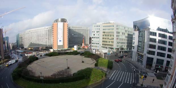 Le piétonnier Schuman gêne la Commission européenne - La Libre