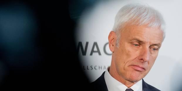 """Indemniser les Européens à l'image des Etats-Unis pourrait """"submerger"""" Volkswagen - La Libre"""