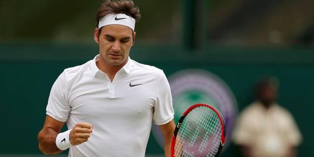 Wimbledon: Federer, Cilic Tsonga, Murray, Querrey et le surprenant Pouille passent en quarts - La Libre