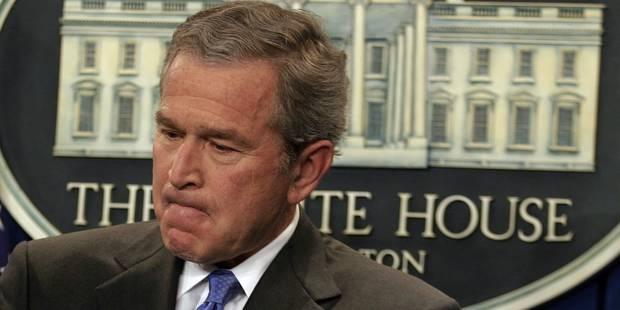 George W. Bush maintient que le monde se porte mieux sans Saddam Hussein - La Libre