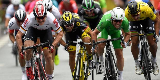 Le Britannique Mark Cavendish remporte la 6e étape du Tour de France - La Libre