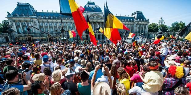 """""""Venez faire la fête"""", le message de la Ville de Bruxelles pour le 21 juillet - La Libre"""
