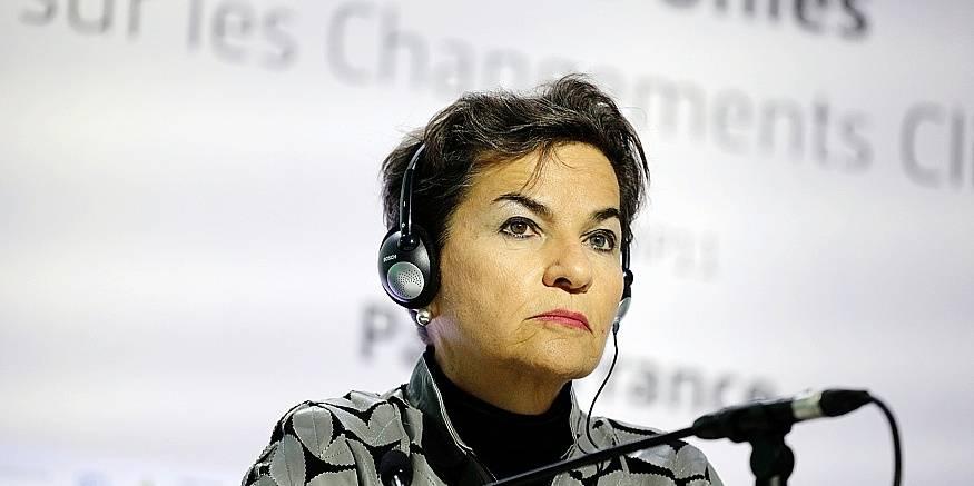 Christiana Figueres, candidate au poste de secrétaire général de l'Onu
