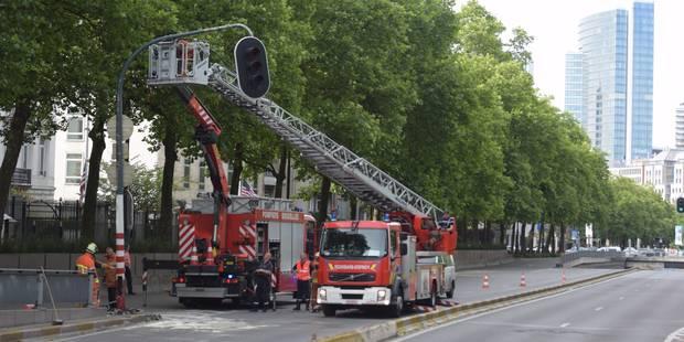 Bruxelles: la petite ceinture fermée suite à un accident - La Libre