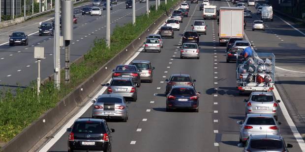 La circulation est à nouveau très dense en direction de l'aéroport de Zaventem - La Libre