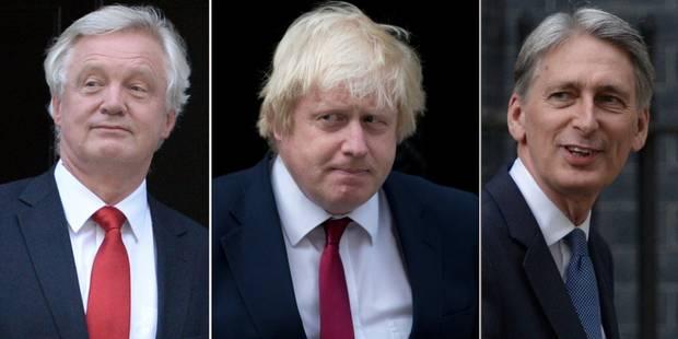 GB: les principaux ministres du gouvernement May sont connus - La Libre