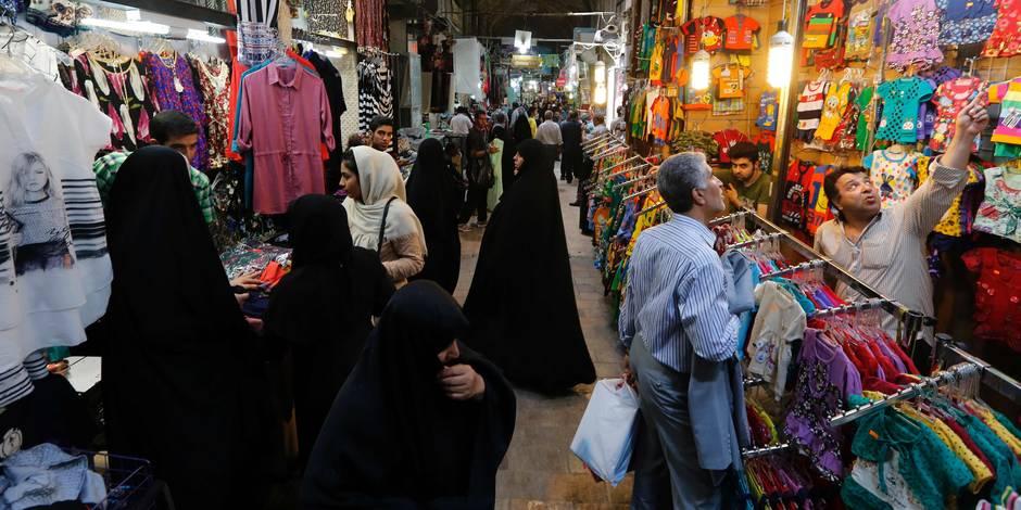 """""""Venez en Iran. On attend les touristes du monde entier, ici"""" - La Libre"""