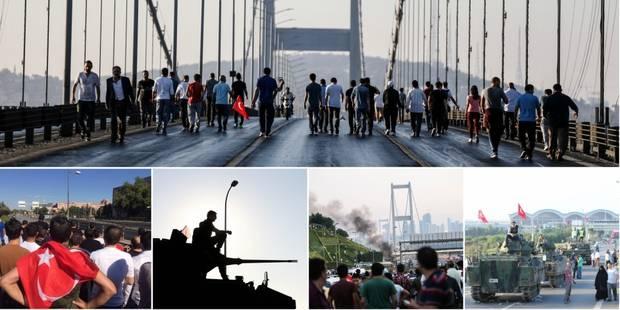 Putsch raté en Turquie: le détail des événements de la nuit de vendredi à samedi (photos et vidéos) - La Libre