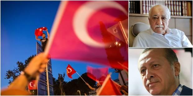Qui est Fethullah Gülen, l'ennemi juré d'Erdogan accusé de la tentative de putsch? - La Libre