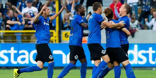 Réduit à dix, le Club de Bruges remporte la Supercoupe (2-1) - La Libre
