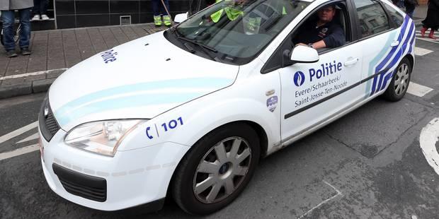 Deux hommes arrêtés après une course-poursuite à Saint-Gilles - La Libre