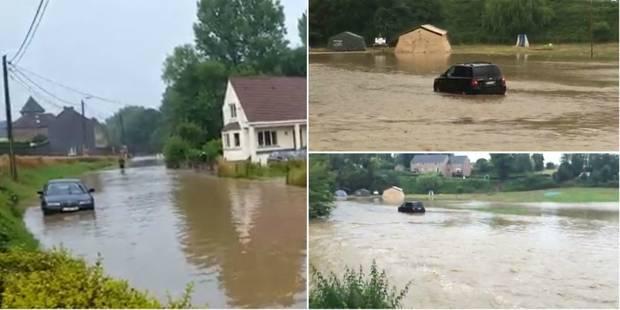 Intempéries: situation toujours critique dans l'est du Brabant wallon (vidéos) - La Libre