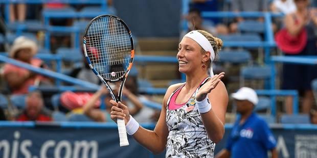 Yanina Wickmayer remporte le tournoi de Washington - La Libre