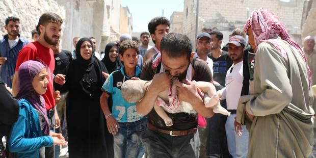 Syrie: fermeture des hôpitaux à Alep à cause de frappes aériennes - La Libre