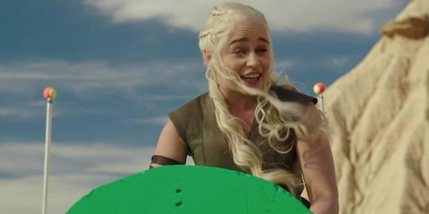 Découvrez le bêtisier de la saison 6 de Game of Thrones (VIDEO) - La Libre