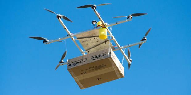Amazon va tester la livraison par drone en Grande-Bretagne - La Libre