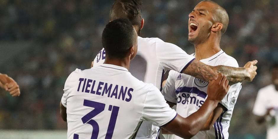 Anderlecht ramène un bon match nul de Rostov (2-2)