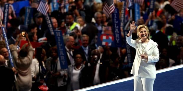 Hillary Clinton a affiché sa différence avec une force tranquille - La Libre