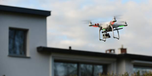 Seuls 81 drones enregistrés en Belgique - La Libre