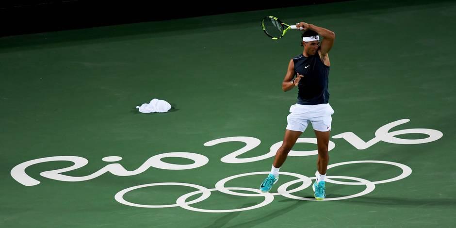 Tennis: Rafael Nadal annonce qu'il jouera le simple, le double et le double mixte aux JO