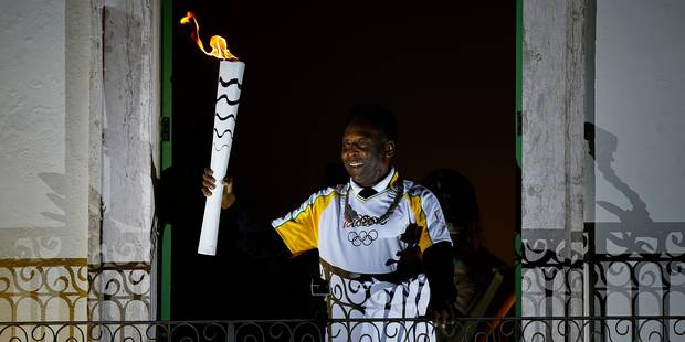 JO 2016: Pelé, souffrant, n'allumera pas la vasque olympique - La Libre