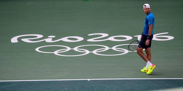 JO 2016: le tennisman Del Potro coincé 40 minutes dans un ascenseur (PHOTOS) - La Libre