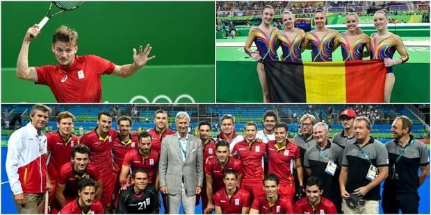 Les Belges aux JO : les Red Lions et Goffin s'imposent facilement, Nina Derwael en finale - La Libre
