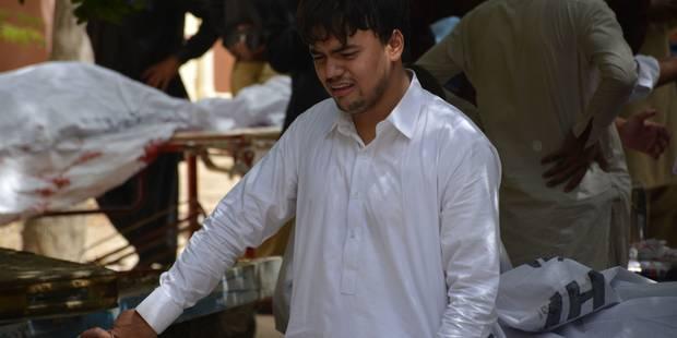 Pakistan: l'horreur à l'hôpital, un attentat visant journalistes et avocats fait 70 morts - La Libre