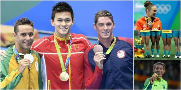 Dopage, polémiques, surprises... : Que s'est-il passé cette nuit à Rio? - La Libre