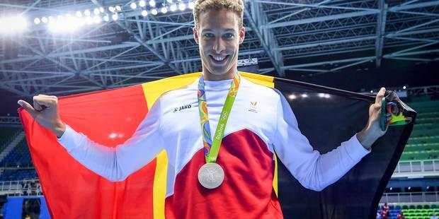 Pieter Timmers décroche l'argent du 100 m libre et bat le record de Belgique - La Libre
