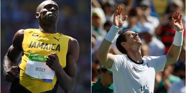 Bolt et Gatlin sans problème en demi-finales, Nadal éliminé par del Potro - La Libre