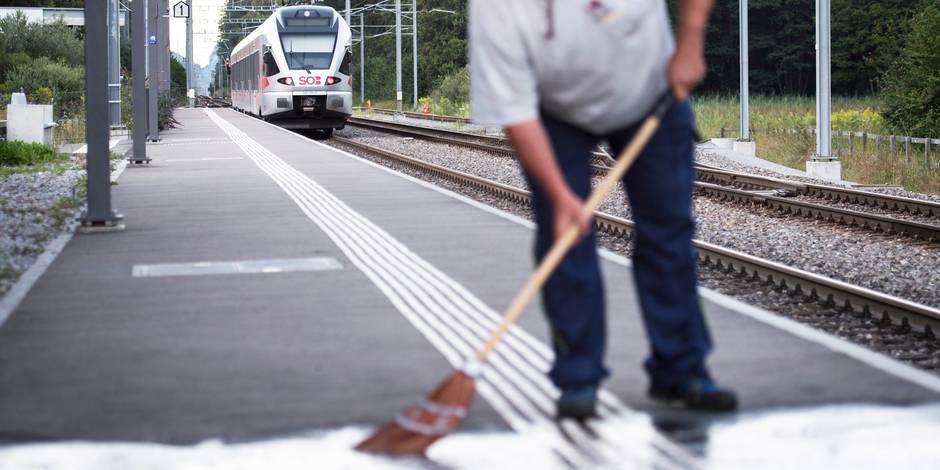 """Attaque dans un train suisse: pas d'""""indice"""" d'acte terroriste, selon la police"""