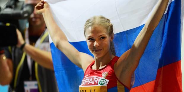 Dopage: la sauteuse en longueur russe Darya Klishina réintégrée aux Jeux de Rio - La Libre