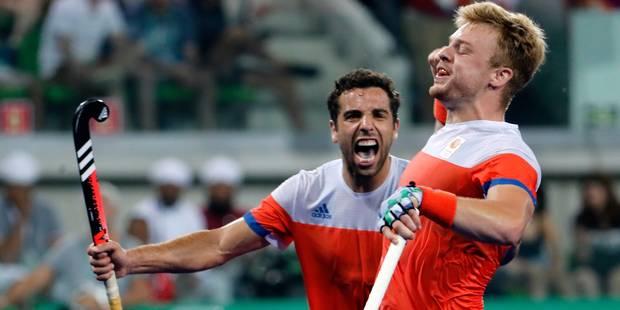 JO: les Red Lions face aux Pays-Bas en demi-finale - La Libre