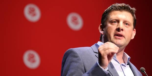 John Crombez dézingue la politique du gouvernement en matière de sécurité - La Libre
