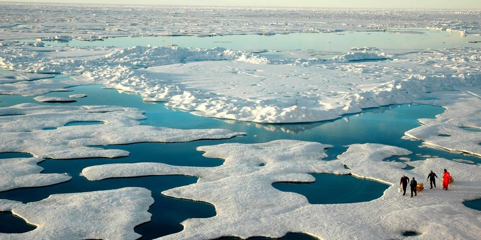 Des frontières disputées (1/5): en Arctique, le réchauffement pourrait jeter un froid - La Libre