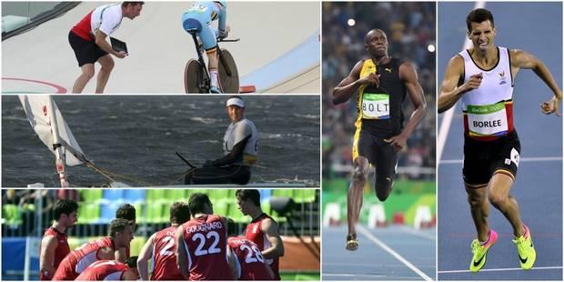 Le programme des Belges ce mardi: 3 chances de médaille, Bolt et Borlée côte à côte ! - La Libre