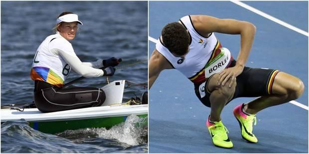 Les Belges à Rio : Evi Van Acker échoue au pied du podium, Jonathan Borlée éliminé du 200m - La Libre