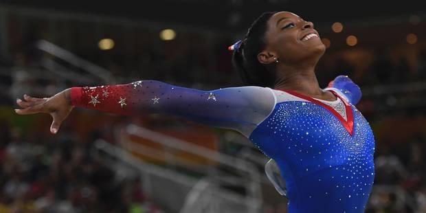 D'une adoption au Texas au sommet de l'Olympe, l'incroyable parcours de Simone Biles (PORTRAIT) - La Libre
